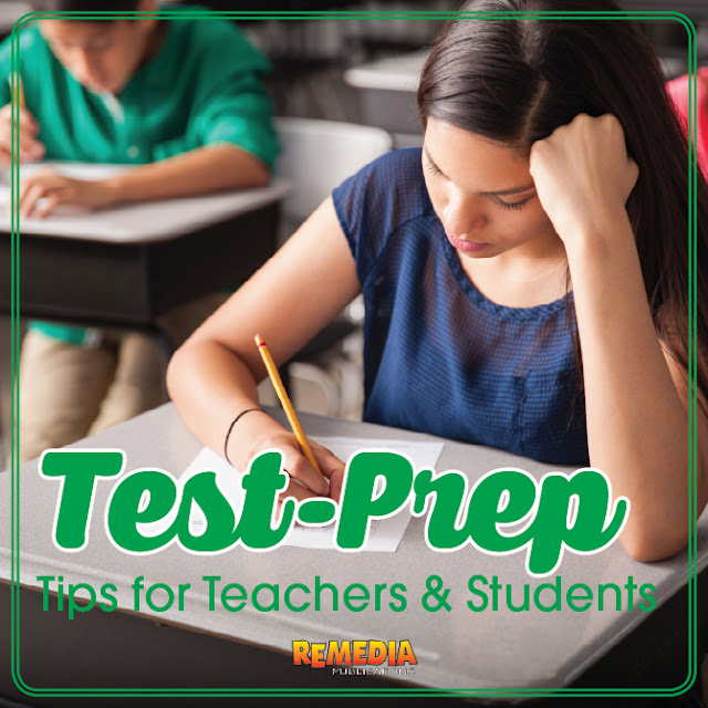 Test-Prep Tips for Teachers & Students | Remedia Publications