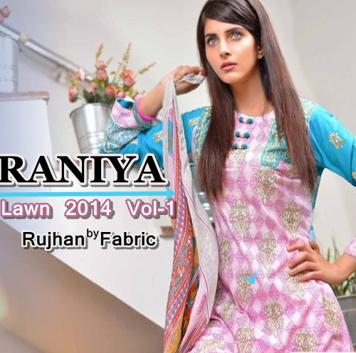 Raniya Lawn Colleciton 2014