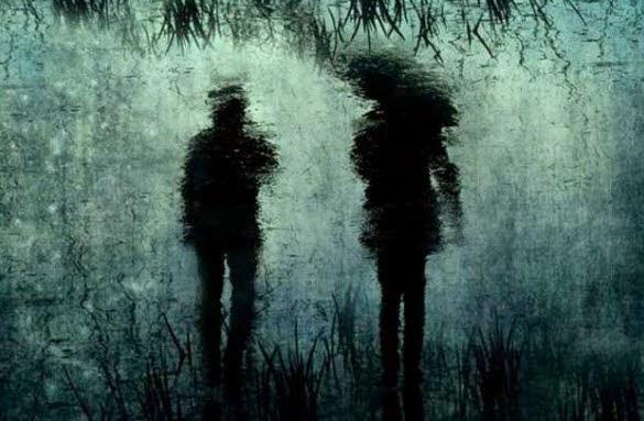 Gambar Hujan Romantis Sedih dan Galau Dalam Badai Asmara Cinta Sejati