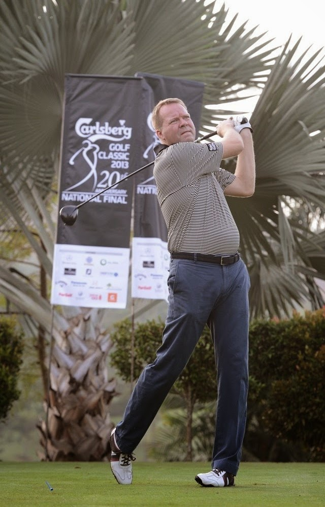 Mr. Henrik Juel Andersen, Managing Director of Carlsberg Malaysia is an avid golfer