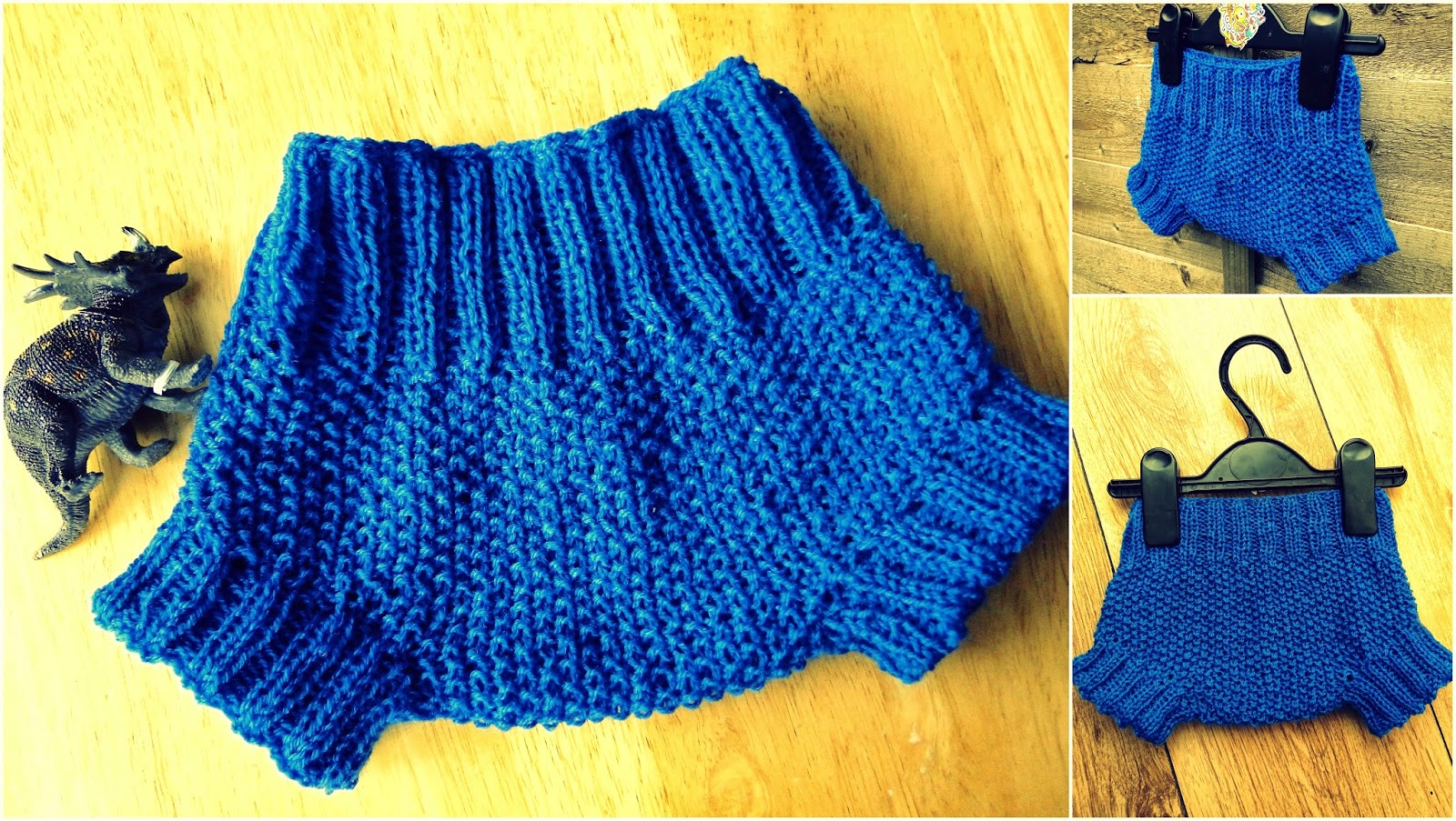 How to knit baby diaper cover