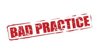 Bad Practice