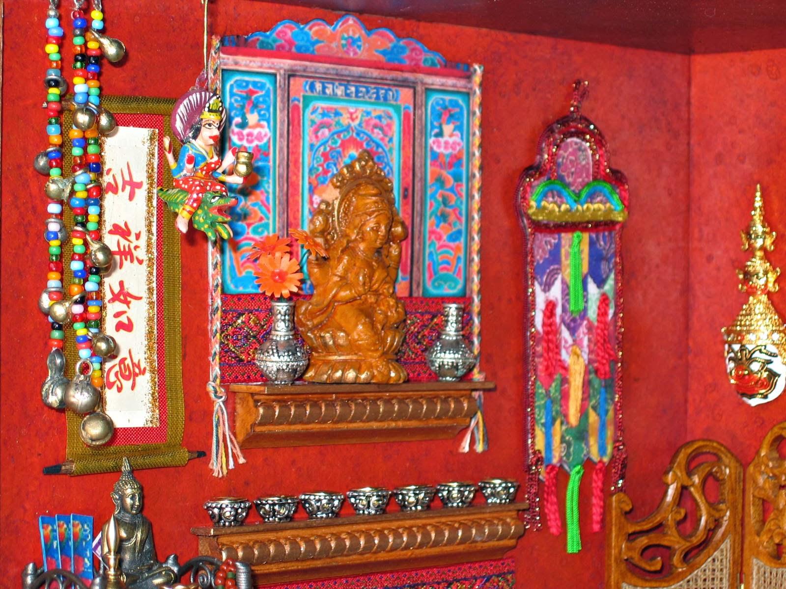 dollhouse shrine
