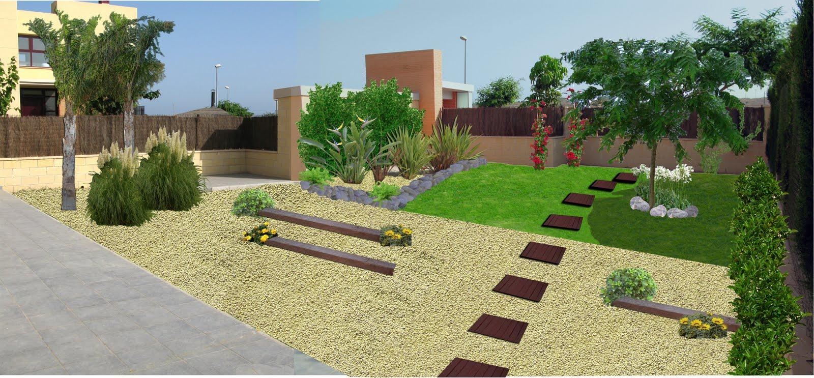 Dise o de jardines jardiner a benidorm jardineros alicante - Diseno de un jardin ...
