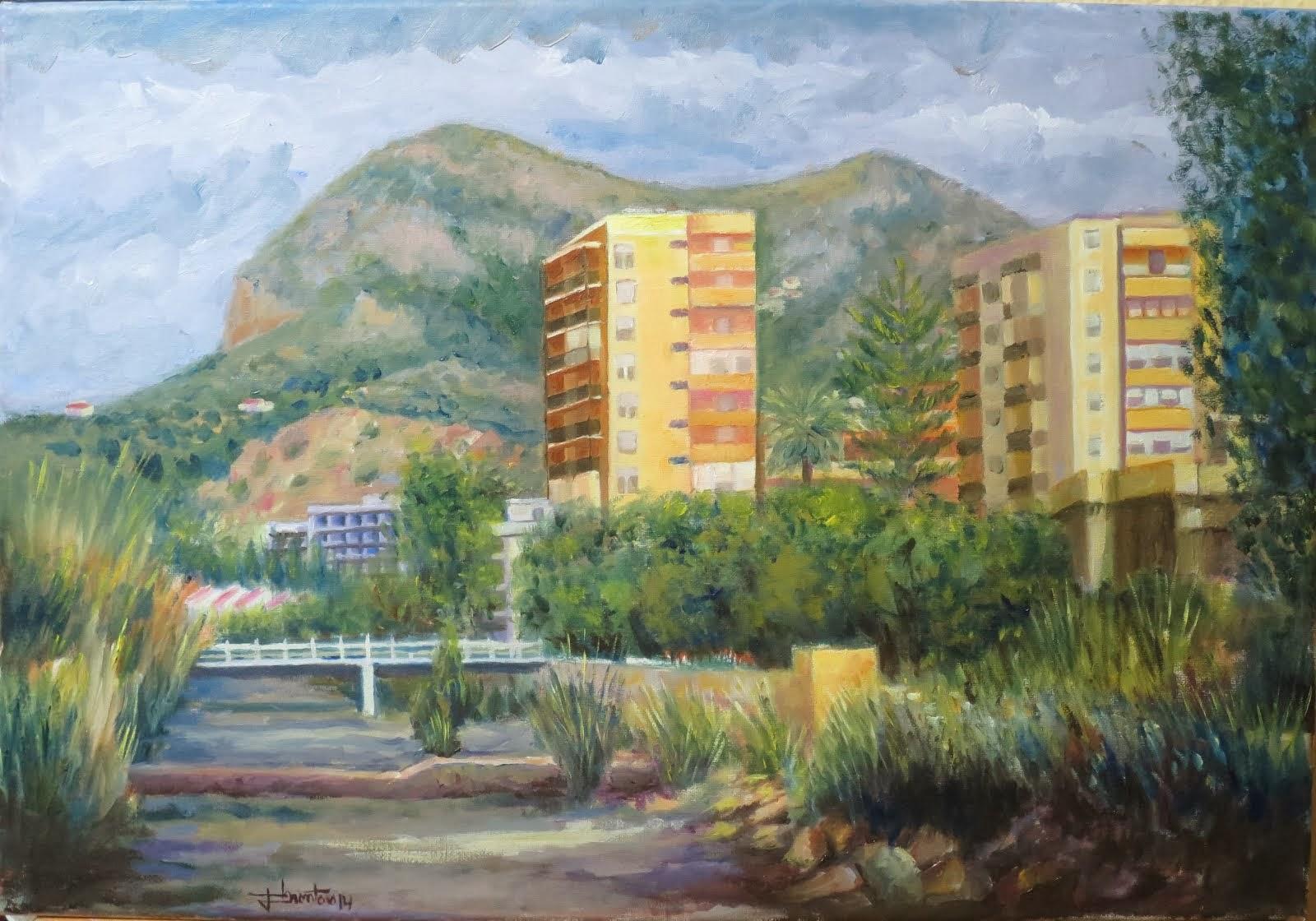 San Antón desde el arroyo Jaboneros (10P)