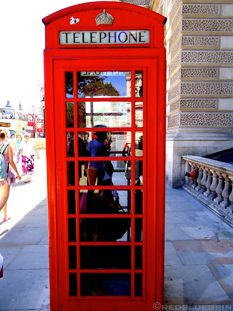 Telephone booth at UK