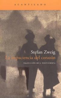 la impaciencia del corazón Acantilado Stefan Zweig