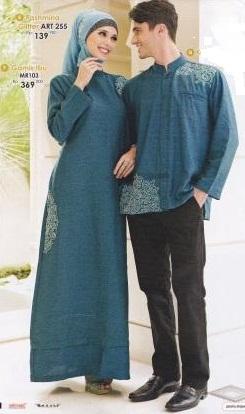 Gambar busana muslim untuk hari raya idul fitri yang nyaman dipakai, sederhana dan enak dipandang