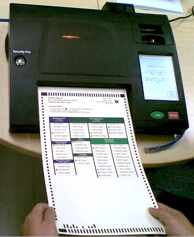 automated election essay Vendors and election jurisdictions generally state that they do not transmit election results from precincts via the internet,.
