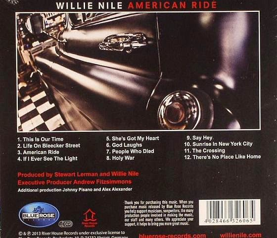 WILLIE NILE - American ride 4
