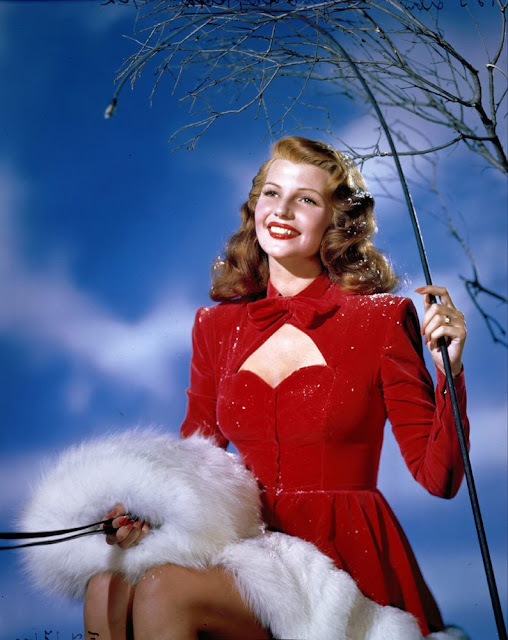 Rita Hayworth Christmas