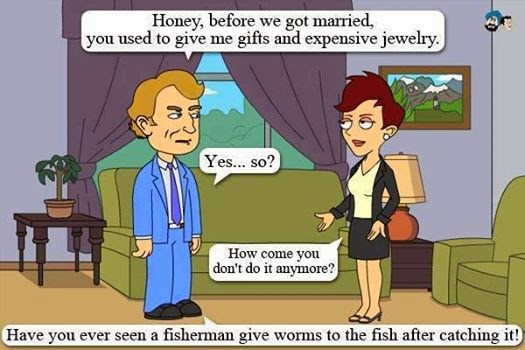 Cartoon, Funny pictures, Jokes, Just Married, Entertainment,
