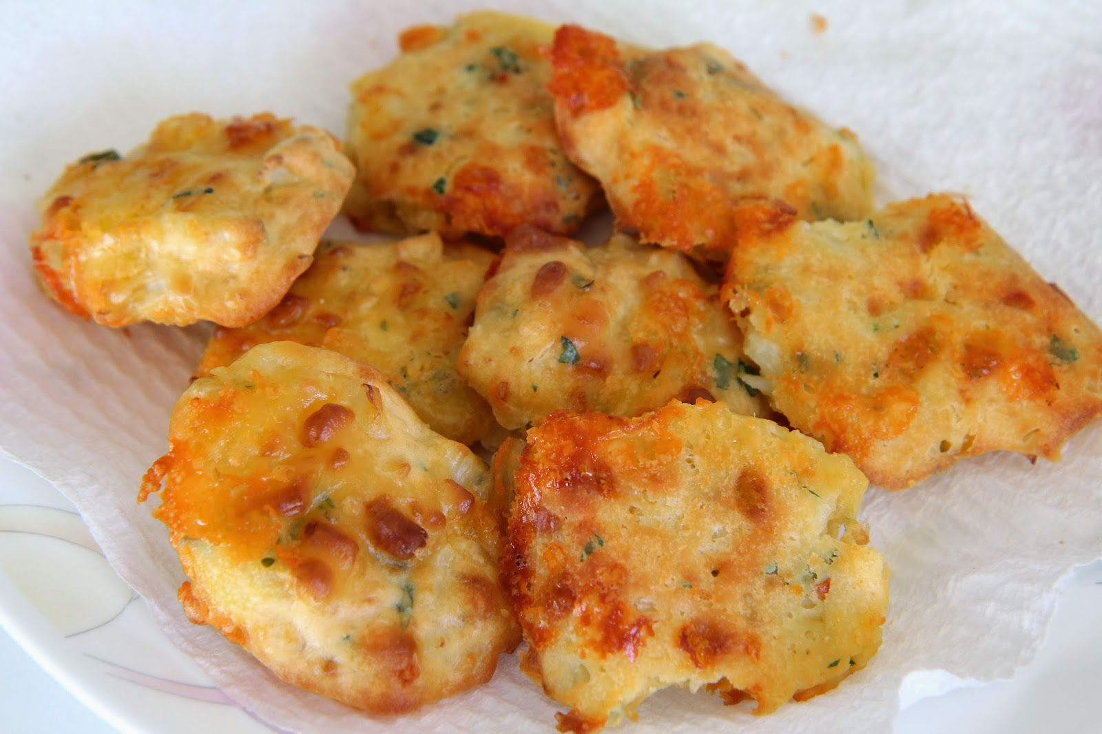 Cheesy Cauliflower Fritters | Adventures Of A Little Foodie