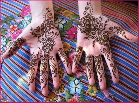 Mehndi Hairstyles Review : Hairstyle review and pictures mehndi designs for hands