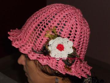 Chapéu Romantic da Pr. Elaine