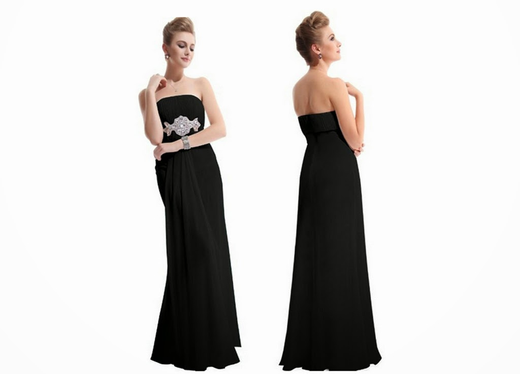 Black Bridesmaids Dresses