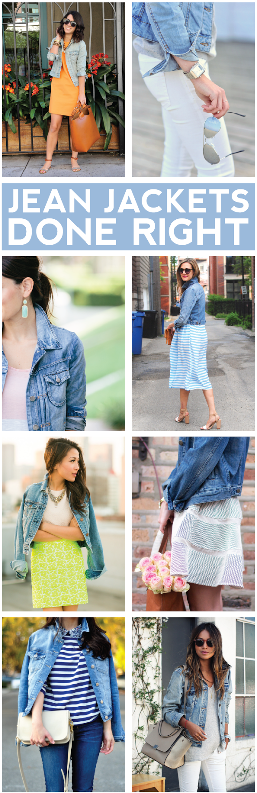 jean jackets done right.