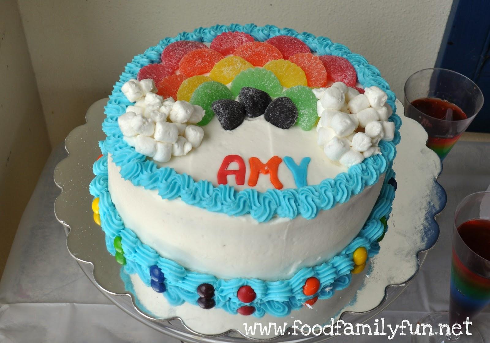 Cake Art By Amy Hours : Food, Family, Fun.: Rainbow Art Party