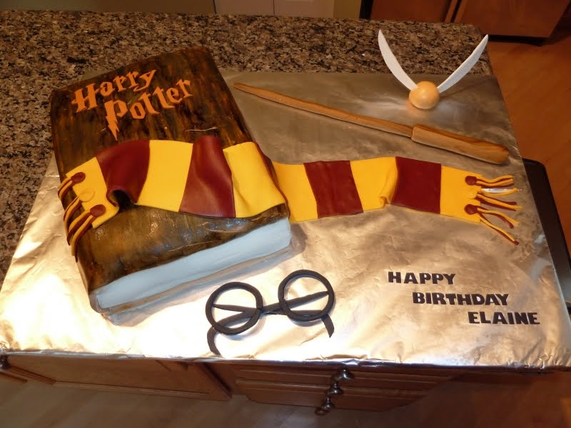 Birthday Cake Ideas Harry Potter : Harry Potter Birthday Cake Recipe - Birthday Invitation