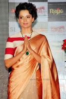 Kangana-ranaut-saree-Rajjo-music-launch