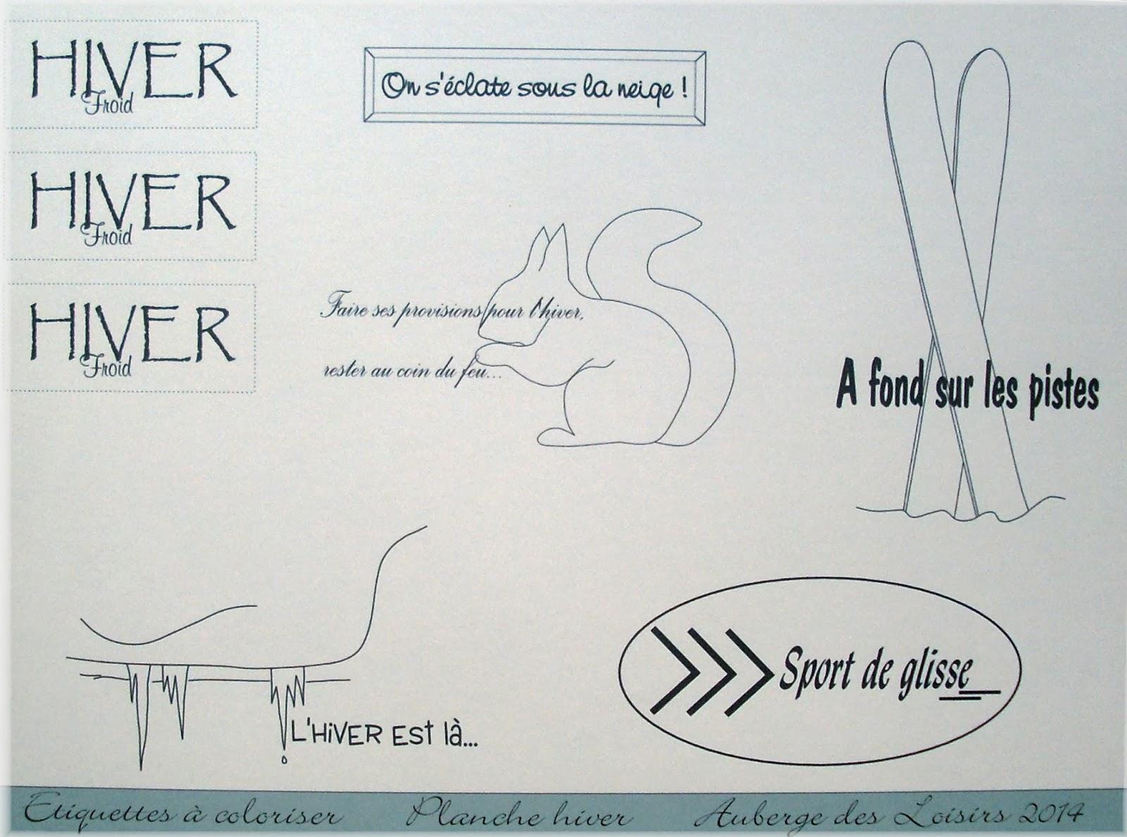 http://www.aubergedesloisirs.com/etiquettes-tags/910-etiquettes-a-coloriser-planche-hiver.html