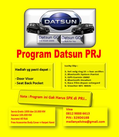PROMO DATSUN PRJ 2015
