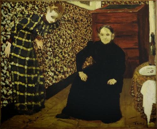 Intérieur, mère et soeur de l'artiste Edouard Vuillard, 1893