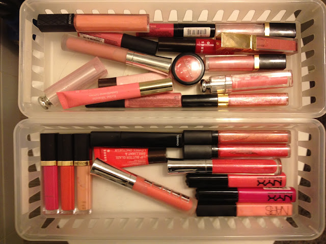 Lip Gloss Collection and Storage