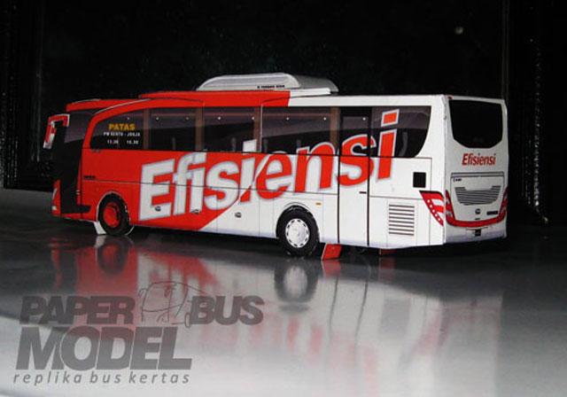 paper bus model