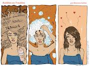 Nuevo Shampoo !!! Hacía mucho que no posteaba nada ! sigo dibujando, . muestra chicas lindas texto