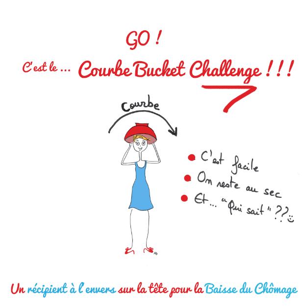 courbe bucket challenge courbe chômage baisse hausse france ice bucket challenge passoire bol solidarité