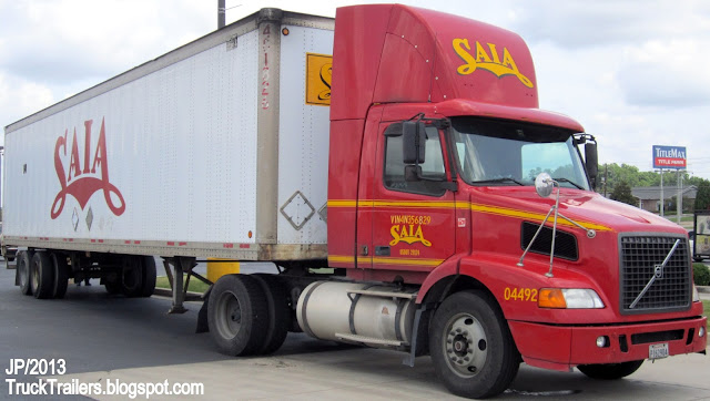 Truck trailer transport express freight logistic diesel for Saia motor freight phone number