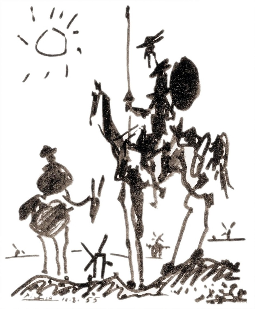 don quixote symbols of america