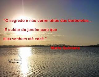 Frases e Mensagens sobre a vida - Mário Quintana