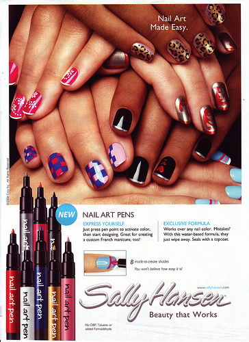 q8 rain nail art pen
