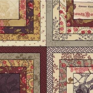 Moda VIN DU JOUR Quilt Fabric by 3 Sisters