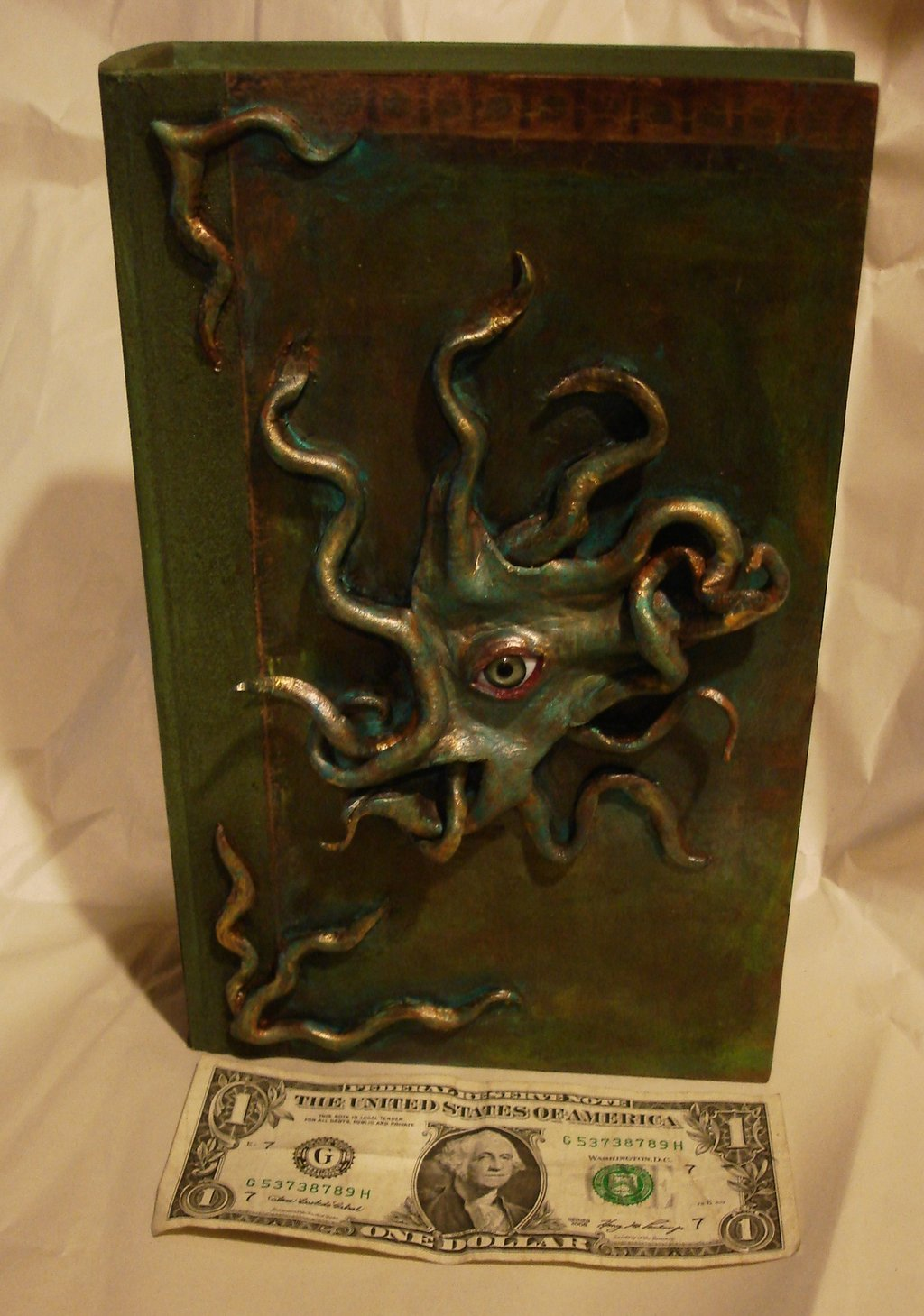Book Cover Photography Prop ~ Propnomicon lovecraftian grimoire