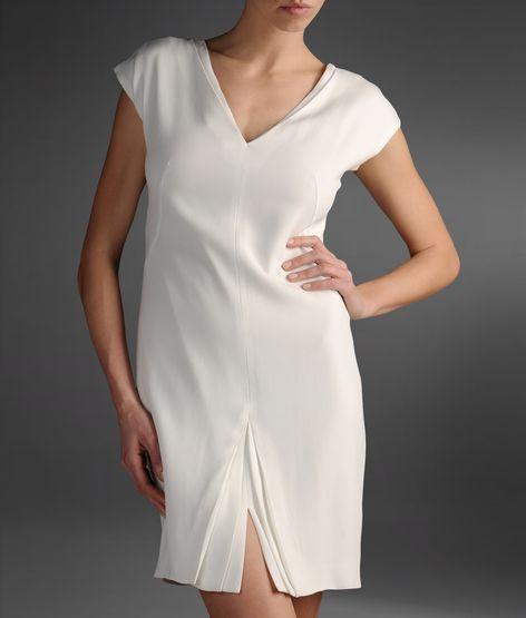 beyaz elbise kısa