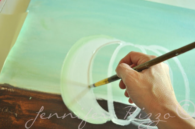 How to paint a pumpkin canvas, art skills not required!!!
