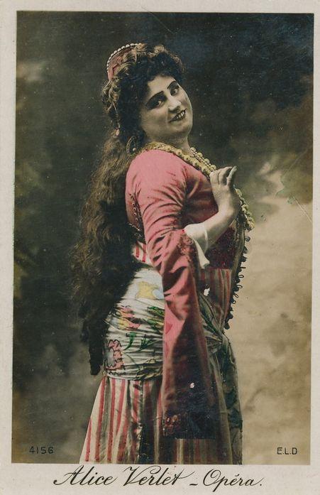 BELGIAN SOPRANO ALICE VERLET (1873 - 1934) CD