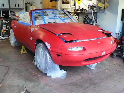 Morrison S Garage Painting Miata Part 3