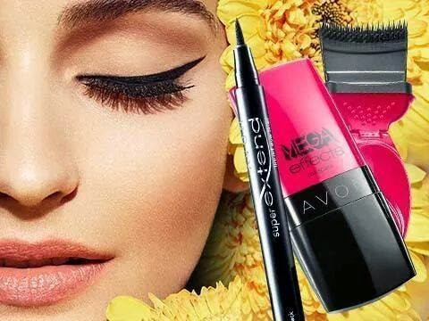 AVON EYELINER SUPEREXTEND E MASCARA MEGA EFFECTS...la coppia vincente!