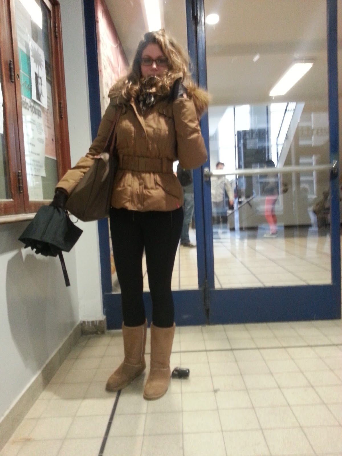 Low Street Fashion Outfit in camel tone for winter - Tenue ton u0026quot;camelu0026quot; pour lu0026#39;hiver