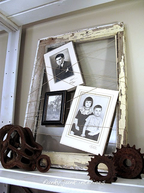 Someday crafts 100 old windows ideas for Old window craft ideas