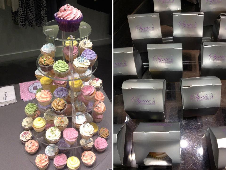 presentoir a cupcakes et boitages