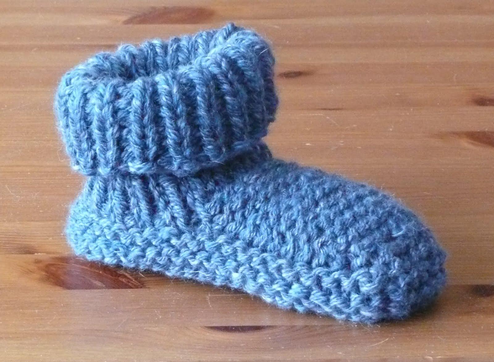 Knitting Grandma Slippers : Pogknits: march 2011