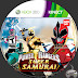 Label Power Rangers Super Samurai Xbox 360