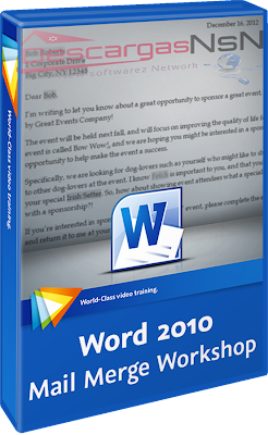 Video2Brain: Word 2010 Mail Merge Workshop (2013)