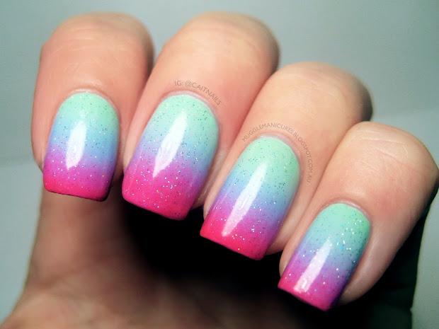muggle manicures nail art pastel