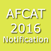 AFCAT Notification 2016 Online Application Indian Air Force